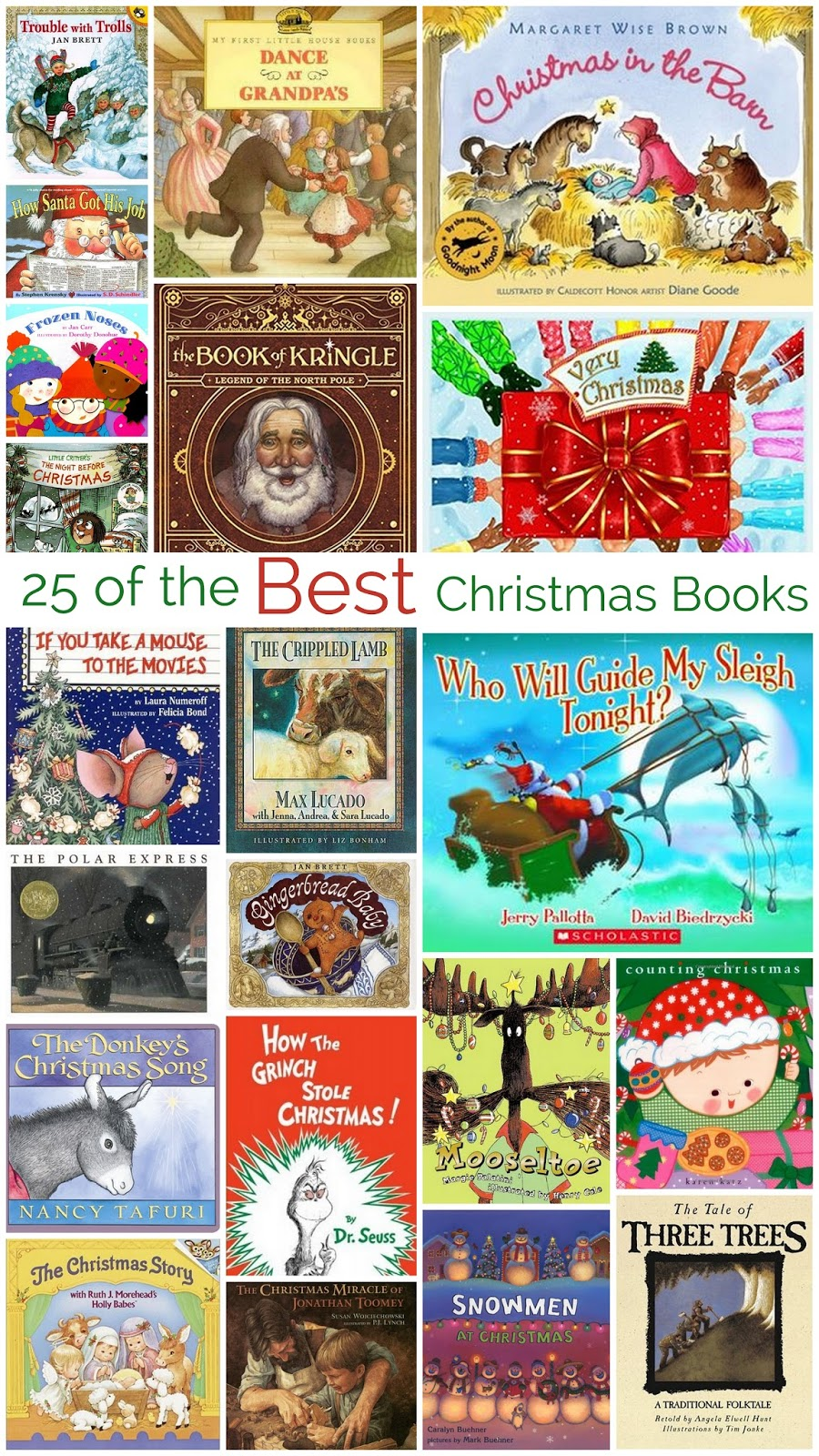 every year i wrap up our favorite christmas book and put them under our christmas tree each night our children unwrap one for us to read as a family - Best Christmas Books