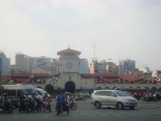 Marché de Ben Thanh à Ho Chi Minh-Ville