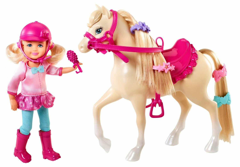 barbie outlets boneka barbie bermain dengan kuda kesayangan