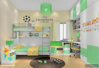 Modern Children's Rooms 34