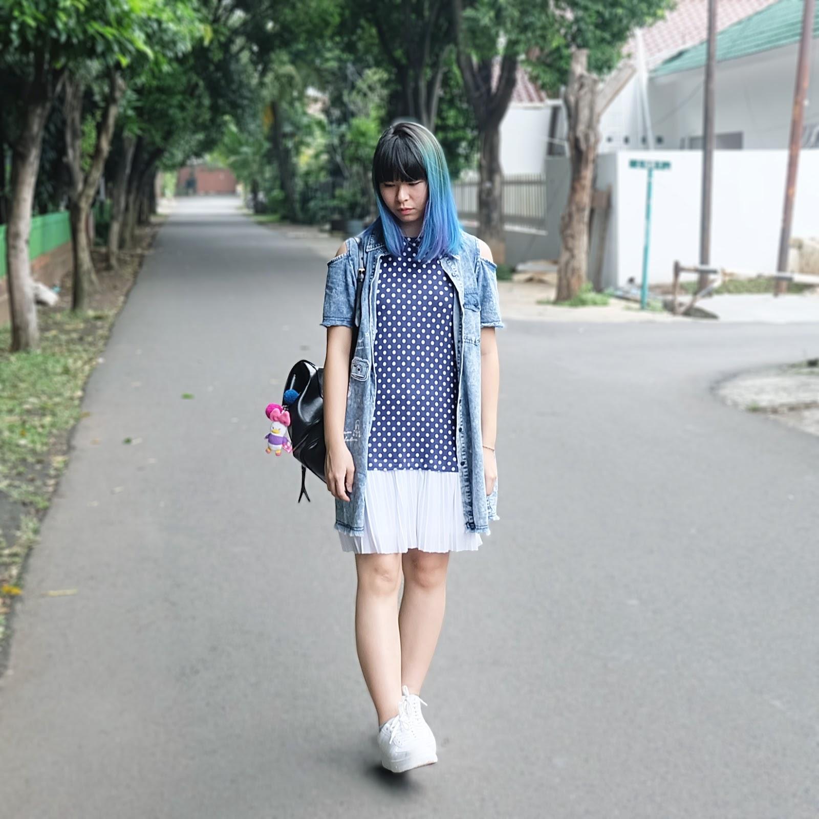 bluish outfit | www.bigdreamerblog.com