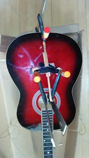 Ремонт струнодержателя гитары