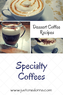 Dessert Coffee Recipes