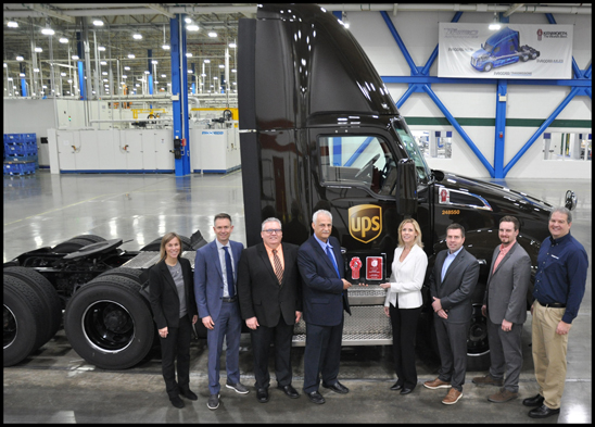 UPS receives 200,000th PACCAR MX Engine