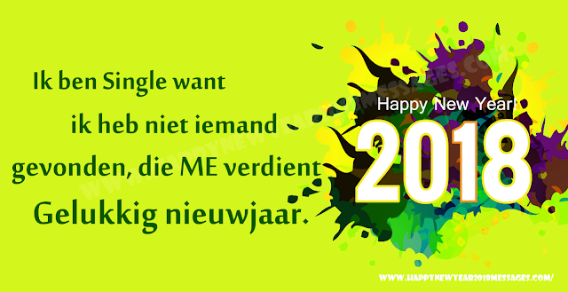 Happy New Year 2018 Dutch Status