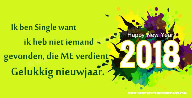 Happy New Year 2018 Dutch Status