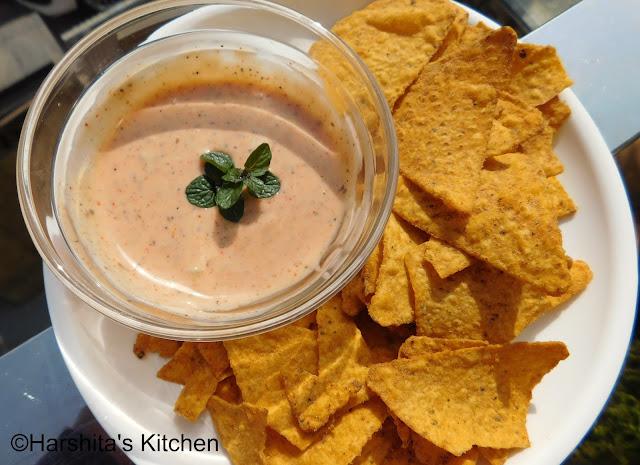 easy nachos dip recipe