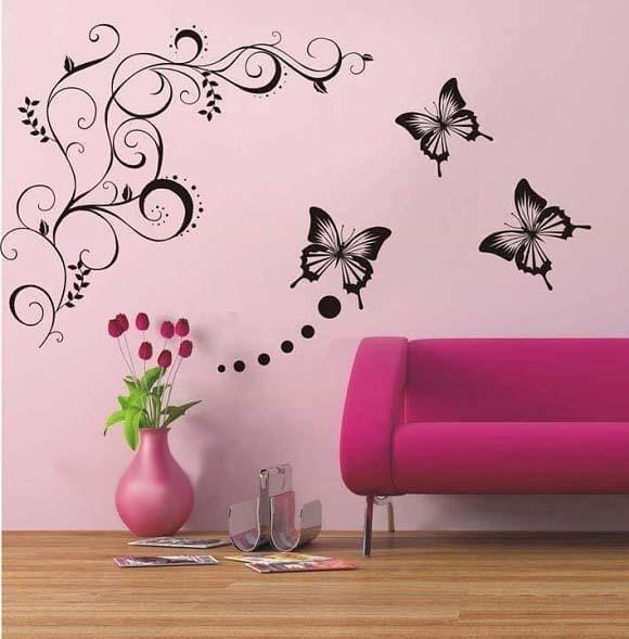 صور أشكال وأفكار رائعة لتزيين جدران المنزل