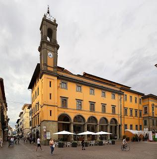 The Palazzo Pretorio in Corso Giacomo Matteotti in the centre of Pontedera, in the Arno valley