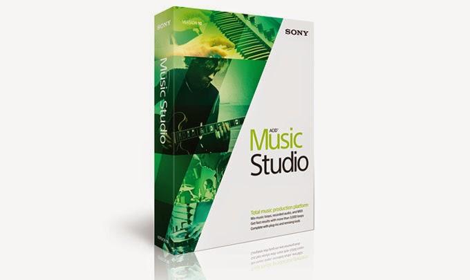 Sony ACID Music Studio 10 [Full] ตัวเต็มโปรแกรมแต่งเสียงเพลง Aug2017