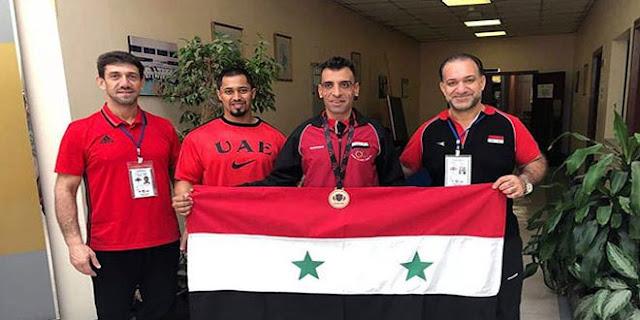 يحيى أبو مغضب يحقق ميداليتين برونزيتين في بطولة آسيا للقوة البدنية
