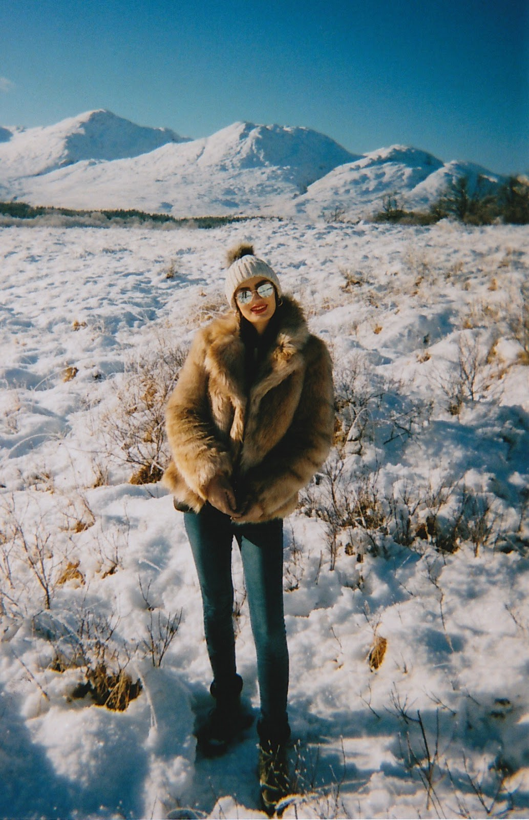 winter moments on 35mm film