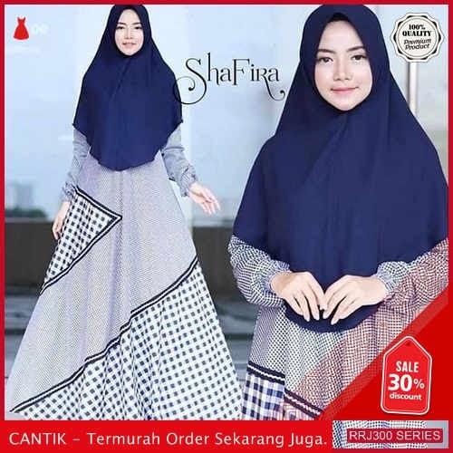 Jual RRJ300D129 Dress Katun Shafira Wanita Set Wd Terbaru BMGShop