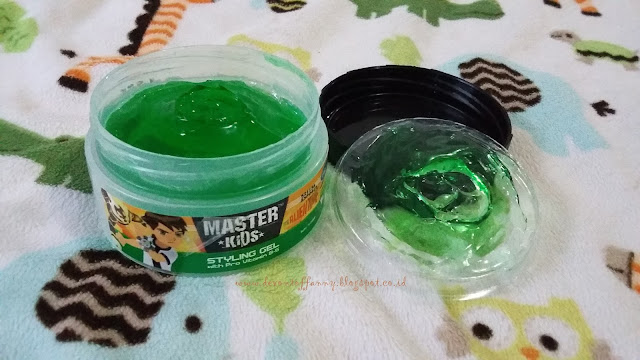 Master Kids Styling Gel Ben 10 [Review]