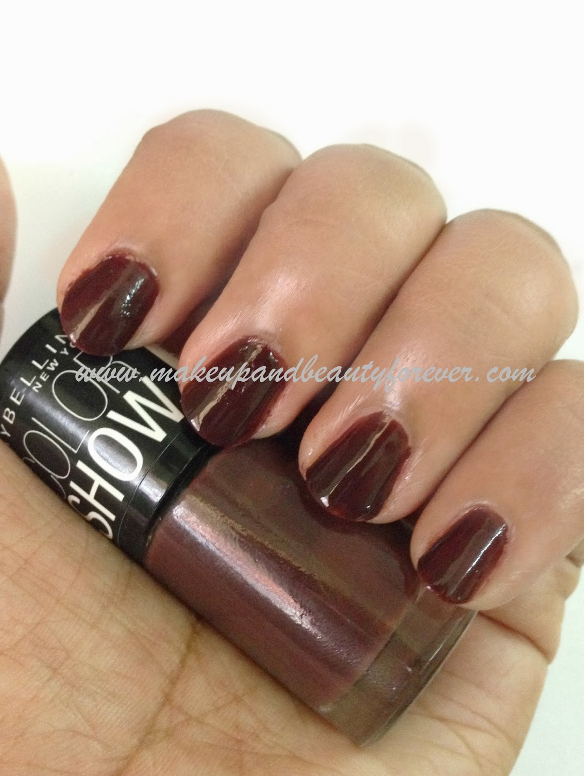 Maybelline Color Show Nail Paints Shades Photos and Swatches