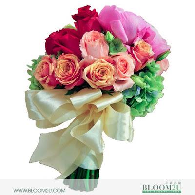 bloom2u, bunga segar di lembah klang, delivery bunga, bunga percuma