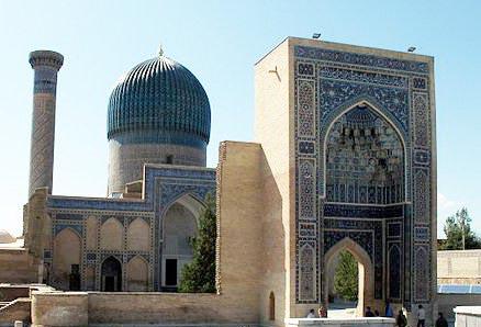 Tamerlane's tomb in Samarkand