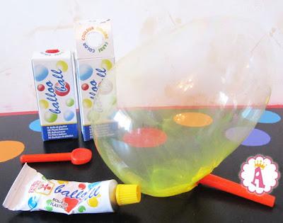 Большой мыльный пузырь и коробочка Balloo Ball