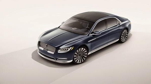 Lincoln, la división de lujo de Ford, mostró el nuevo Continental Concept