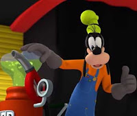 Goofy en Mickey y los Superpilotos