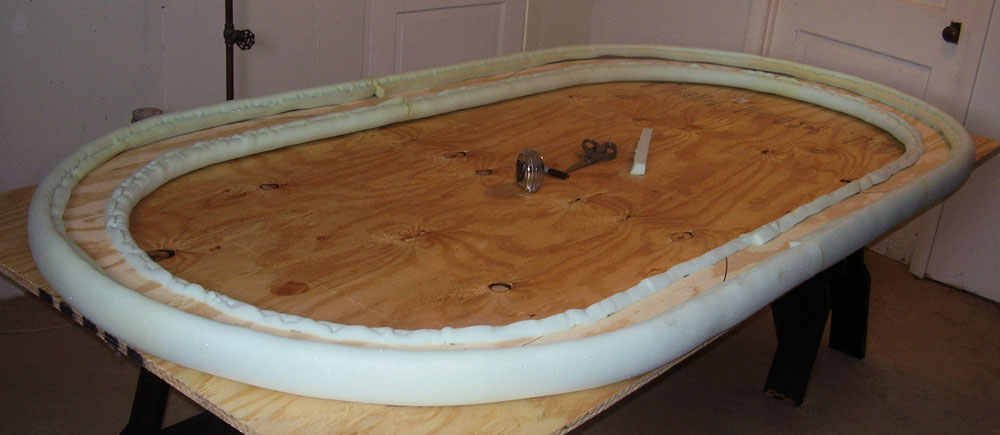 How To Build The Classic Poker Table Diy Plans Rail