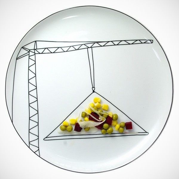 Creative and playful plates by Baguslaw Sliwinski
