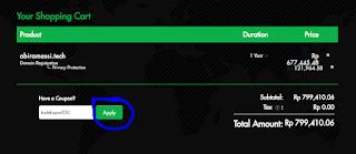 Cara Mendapat Domain TLD .Tech Gratis dengan Email EDU