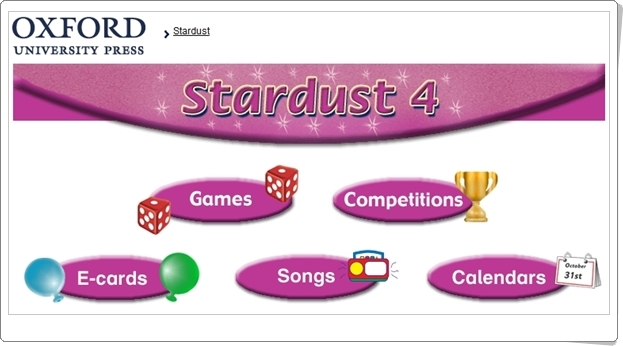 """""""Stardust"""". Inglés de 4º Nivel de Educación Primaria. Editorial Oxford."""
