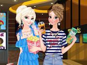 Frozen Sisters In The Cinema