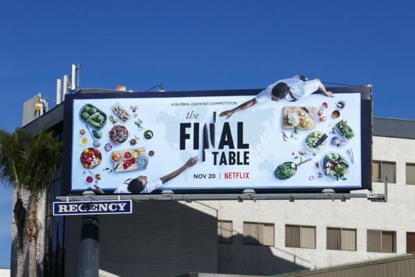 Final Table extension cut-out billboard