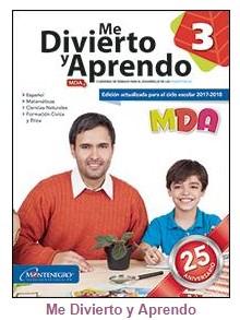 MDA 3 Me Divierto y Aprendo 3 Bloque 3