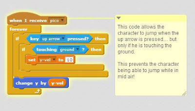 2d game programming with Scratch