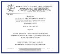 Juknis Penulisan Ijazah Tahun 2018 SD SMP SMA