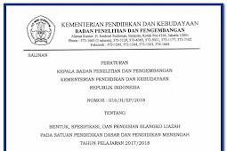 Download Juknis Penulisan Ijazah Tahun 2018 SD SMP SMA