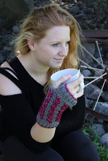 http://www.ravelry.com/patterns/library/tiny-traxx-wristers---adult