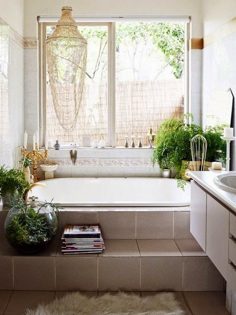 Moon to Moon: Creating a Relaxing Bohemian Bathroom
