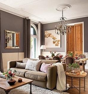 Dise os de modernas salas elegantes colores en casa for Imagenes de salas modernas y elegantes