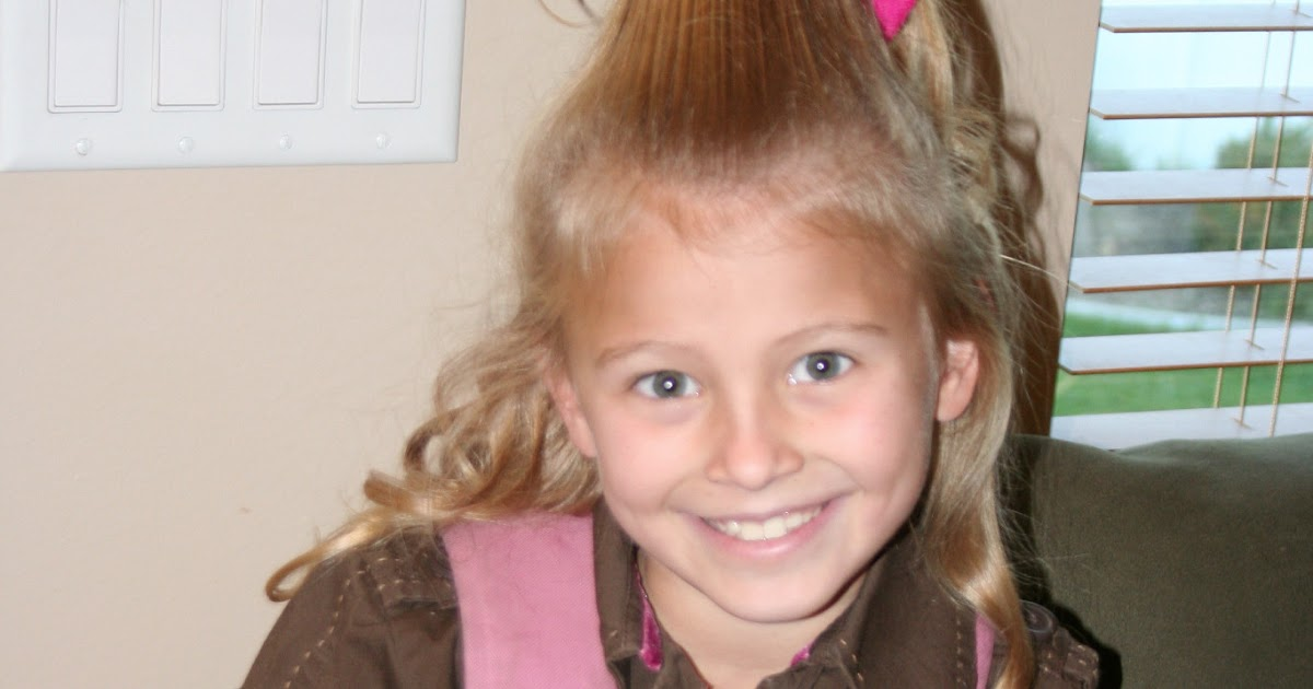 Mommy Lessons 101: Crazy Hair Do For Dr. Seuss's Birthday