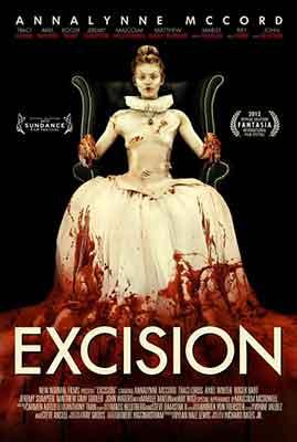 Poster de Excision, la excelente pero extraña película de Richard Bates Jr.