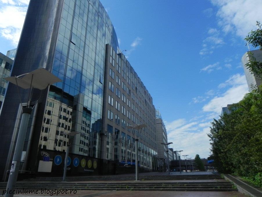 Cladirea Parlamentului european din Bruxelles