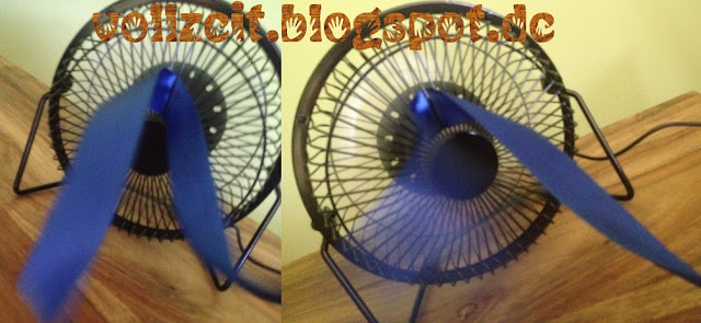 metall fan test