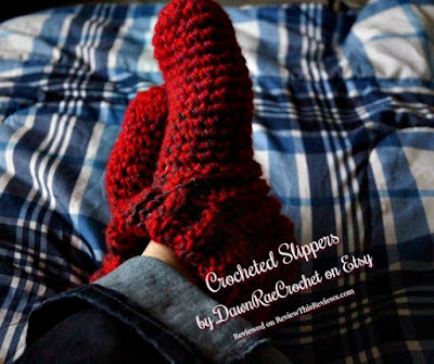 Handmade Crocheted Slippers by DawnRaeCrochet Reviewed