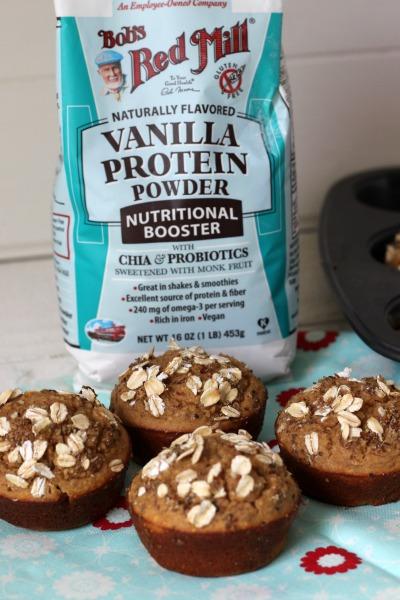 Protein Blender Muffins