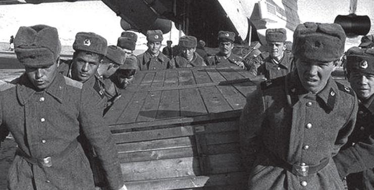 Очаков Инфо: Почему гроб с телом погибшего солдата называется «груз 200»