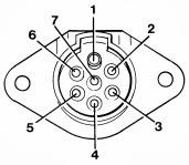 Auto Elétrica Querência: Conector Reboque (Tomada Elétrica)
