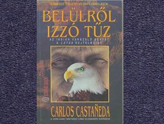 Castaneda Belülről izzó tűz könyv bemutatása