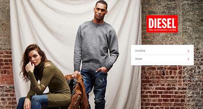 ropa de la marca Diesel en oferta