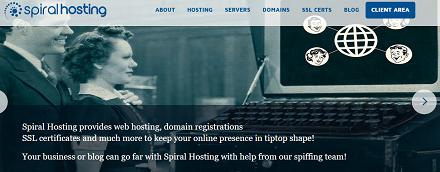 Spiral, Hosting, promo code
