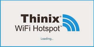 برنامج Thinix واى فاى هوت سبوت