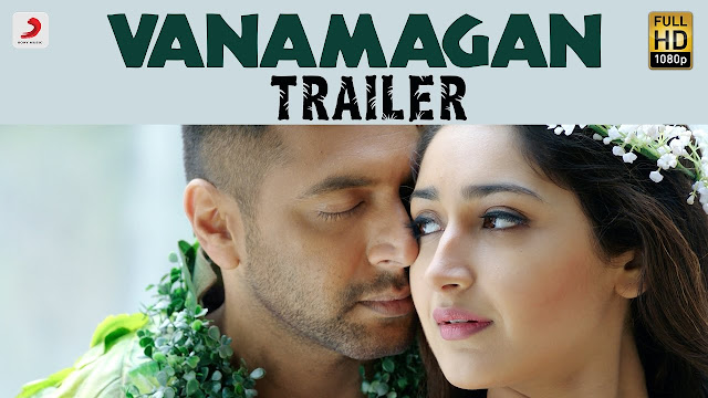 Vanamagan Tamil Movie Official Theatrical Trailer | Jayam Ravi, Sayyeshaa | Harris Jayaraj | Vijay